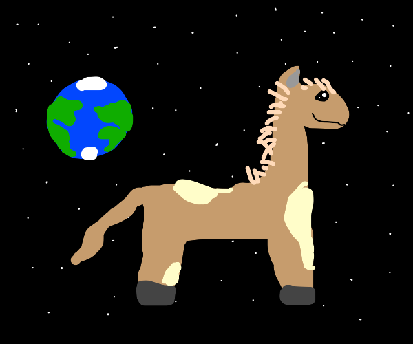 Giant space llama