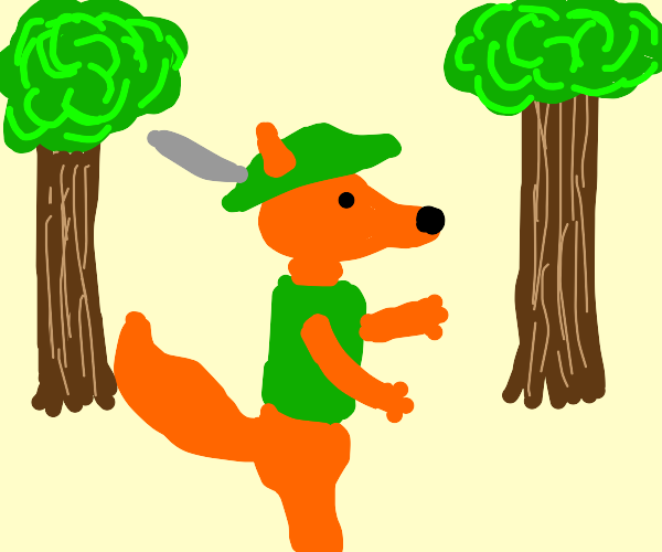Robin Hood in the Forest