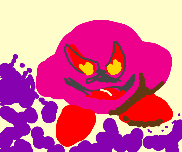 The bad eyes from Kirby