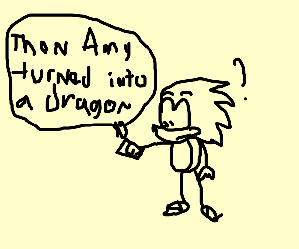 Sonic reads questionable fanfiction