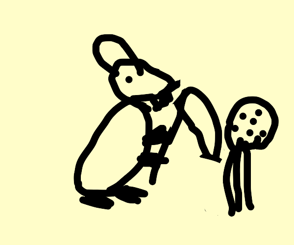 Mouse harvesting a Cookie