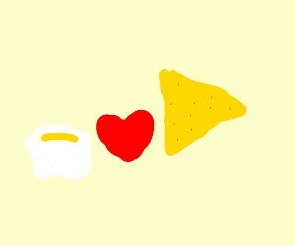 nacho loves cheese