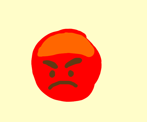 i am mad at you