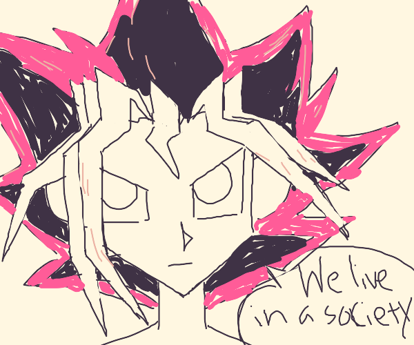 Yugi Lecturing You about Living in Society