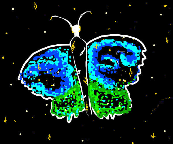Space butterfly