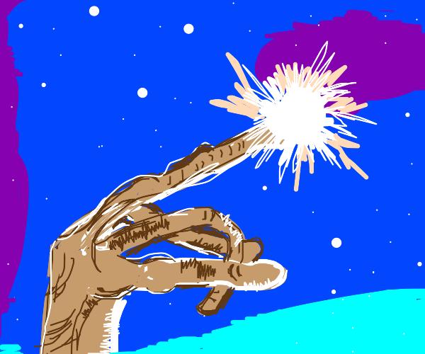 E.T. glowey finger