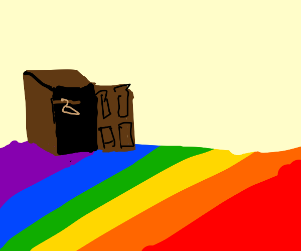 the ground finally comes out the closet!