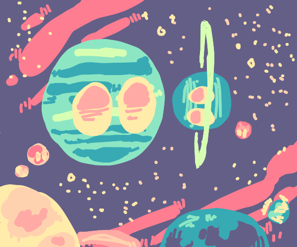 planets have a meetup