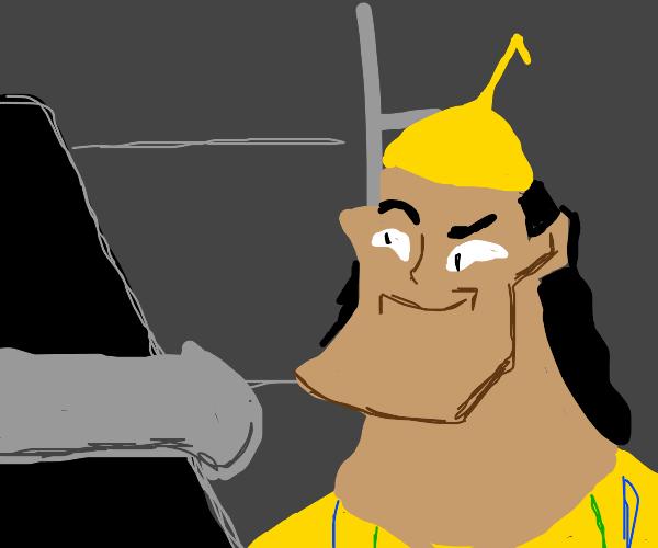 Hey Kuzco, nice kok.