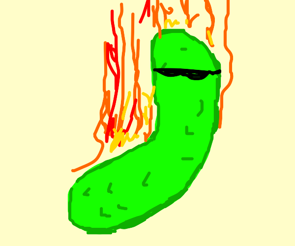 A spicy pickle