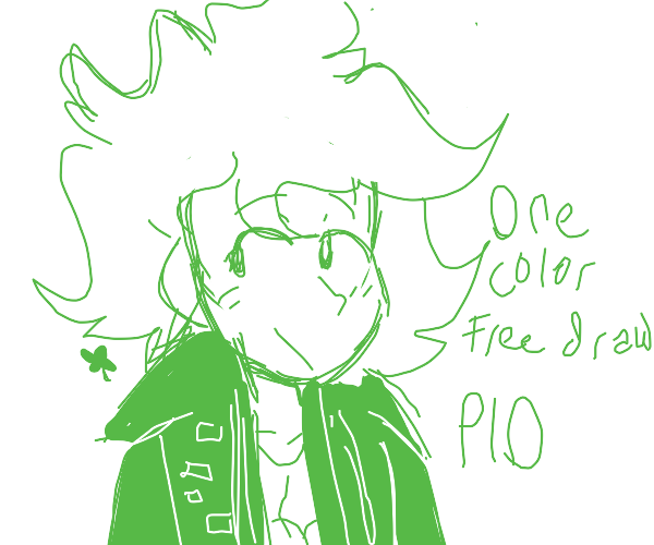 One color free draw PIO
