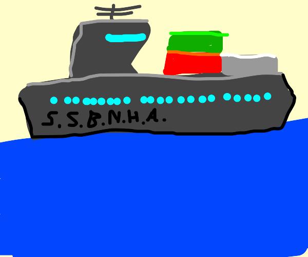 a bnha ship