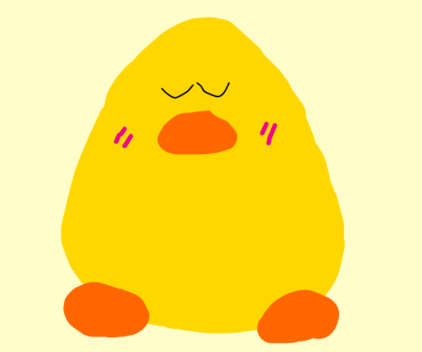 Club penguin but it's some UwU duck instead