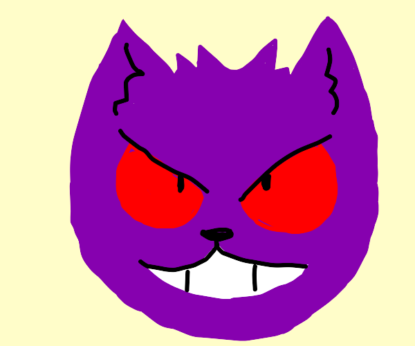 gengar but a cat