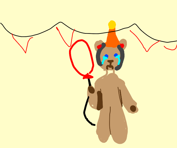 no one came to bear's party :(