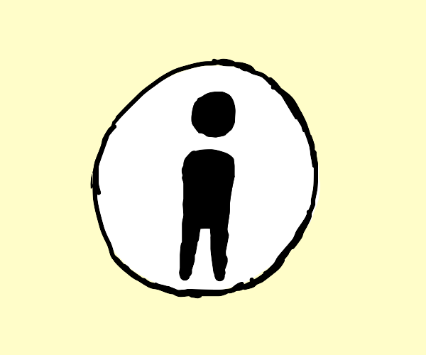 Arms/No Arms Bathroom Logo