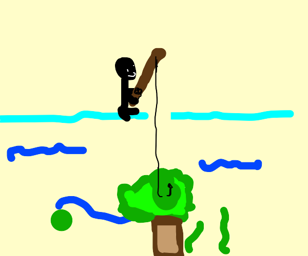 Fishing for a Plant