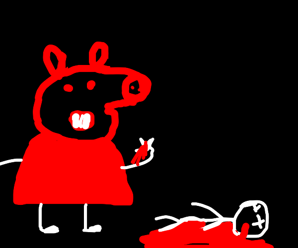 peppa pig commits genocide