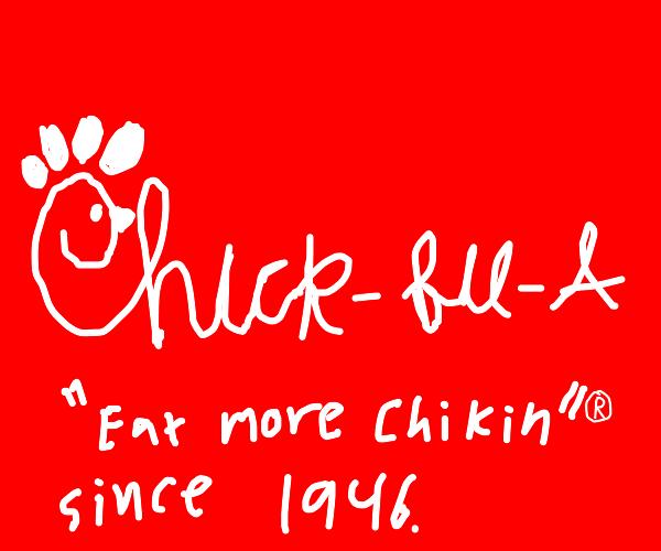 the chick-fil-a logo