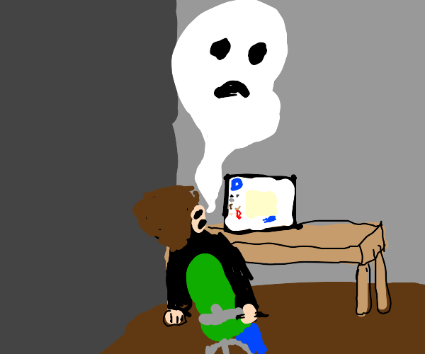 Died playing drawception