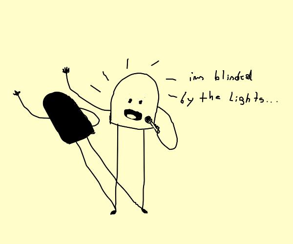 LED Man Sign