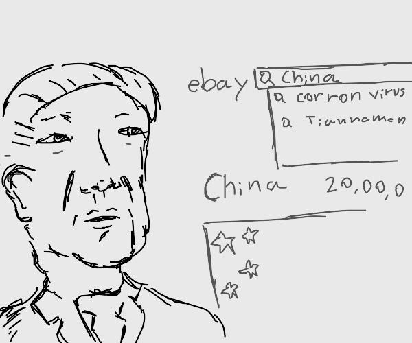 Selling China on ebay