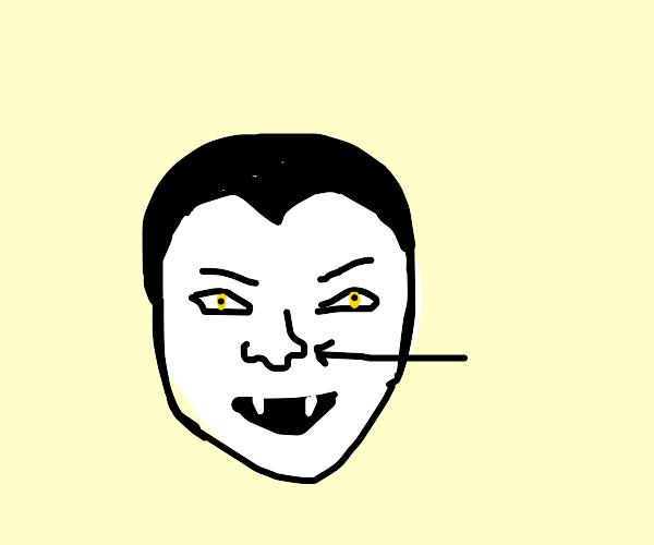 Vampire's nose