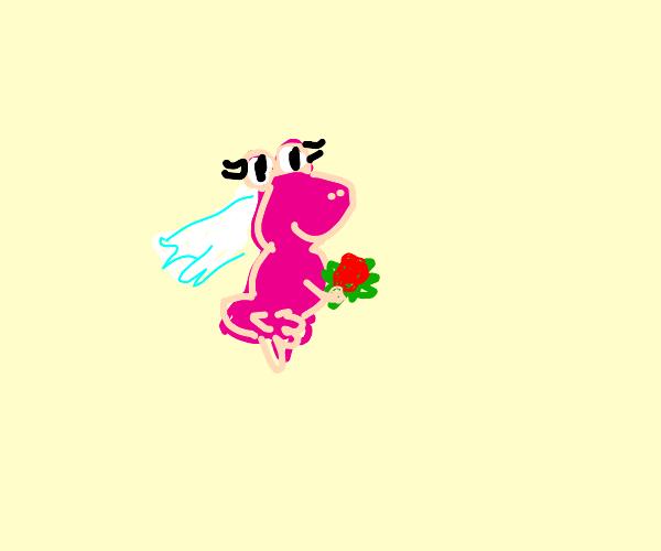 pink frog bride
