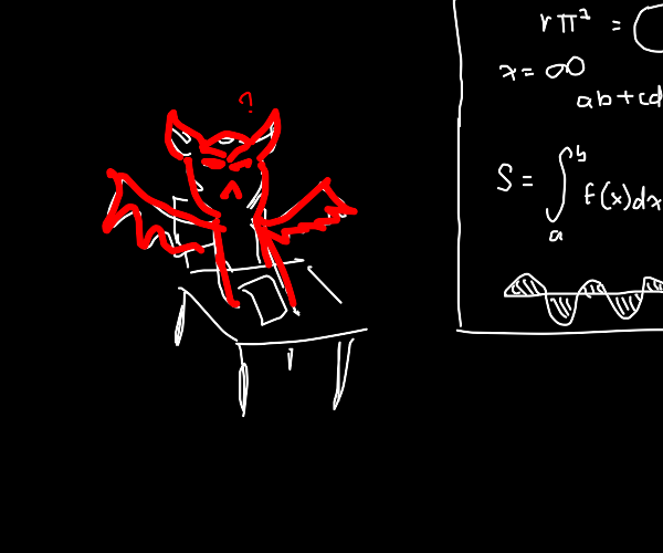 Demon learns math
