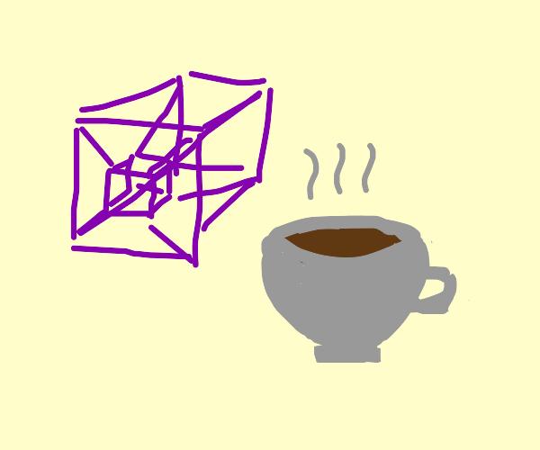 Hypercube and a coffee