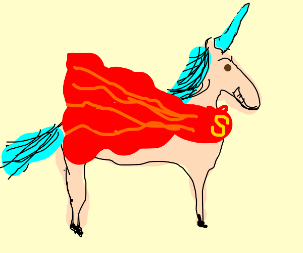 Unicorn superhero