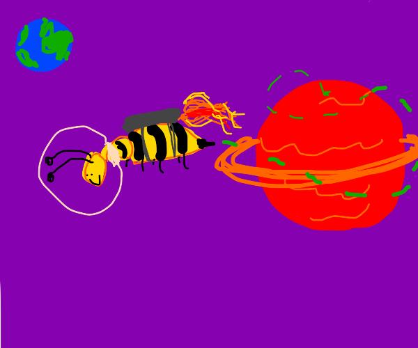 Bee from an Alien Planet
