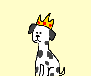 Image result for dalmatian king clipart
