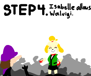 Step 3: Isabelle Kills Everyone in SMash
