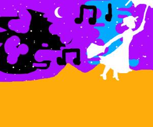 Mary Poppins singing
