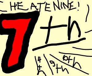 10th 9th 8th