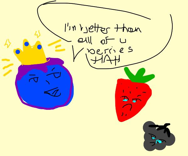Smug blueberry