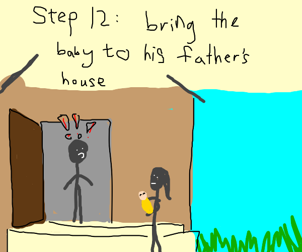 Step 11: Give Birth