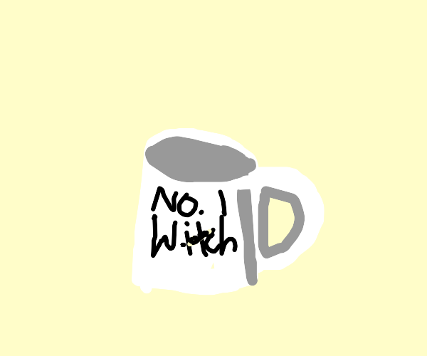 Coffee mug for number 1 witch