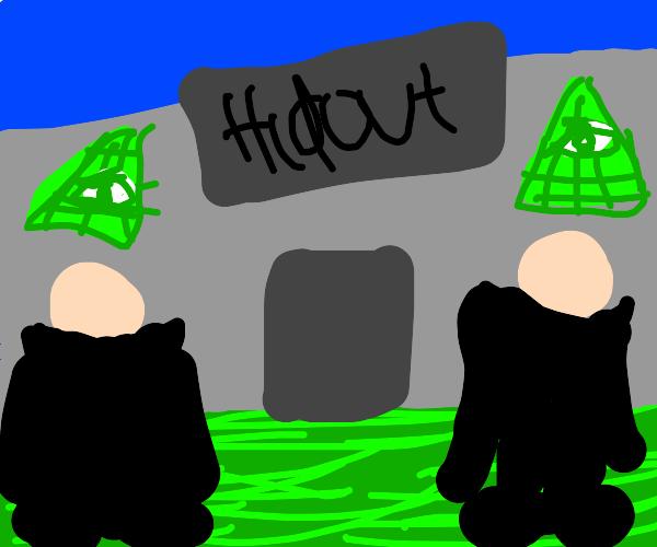 Illuminati hideout