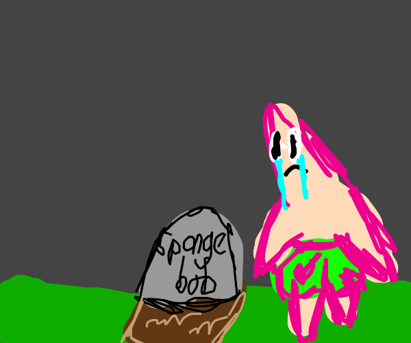 spongebob's funeral