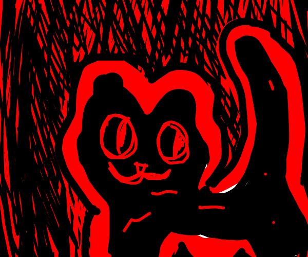 creepy cat-bear thing