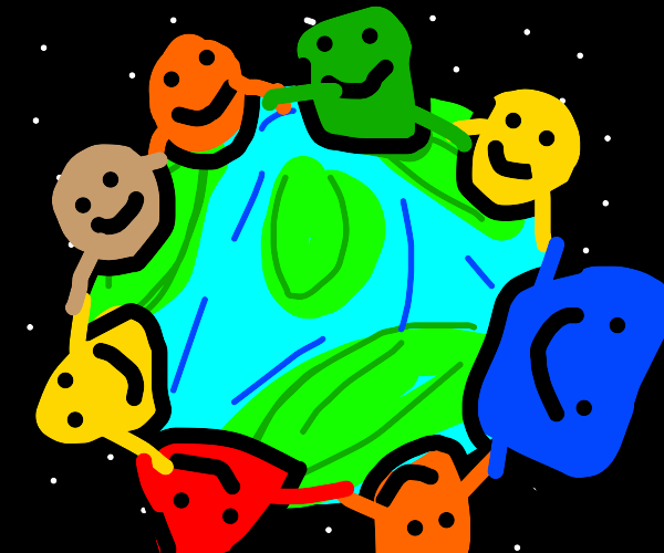 shapes of the world, unite!
