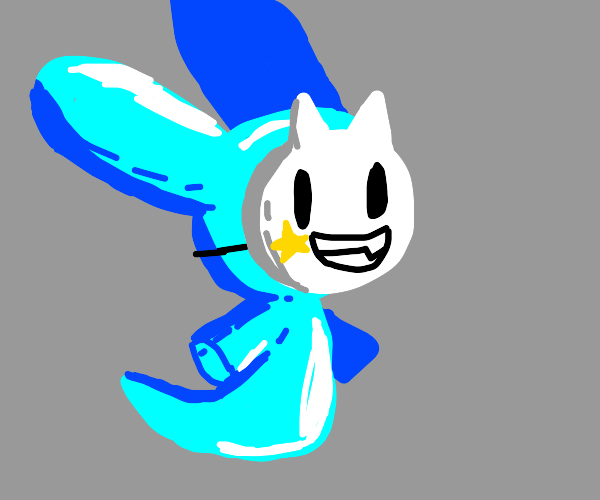 Masked bunny spirit
