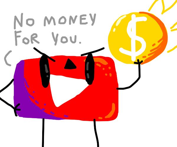 youtube demonitizing again