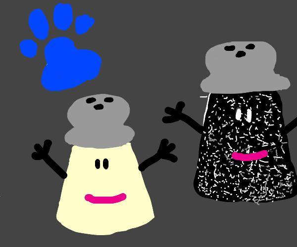 Salt & Pepper from Blues Clues