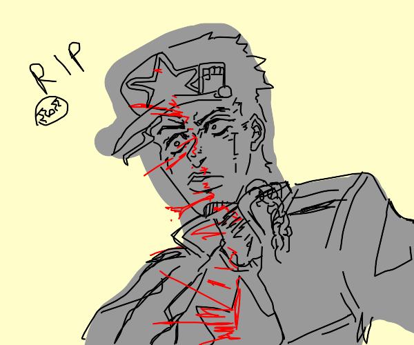 Jotaro dies (spoiler alert)