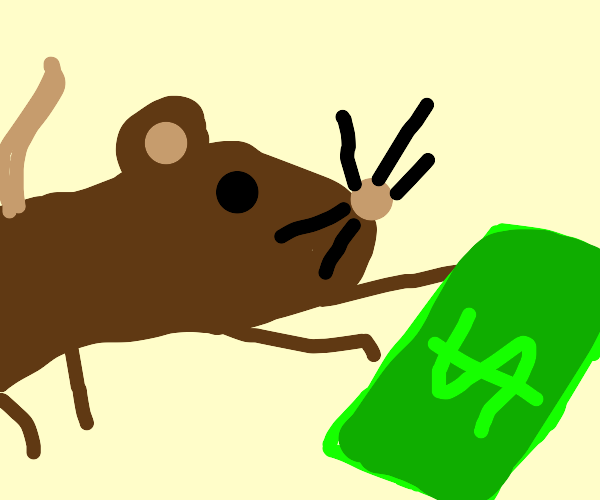 rats take your money
