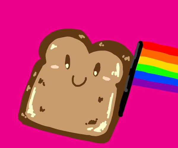 happy gay toast