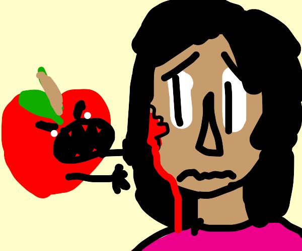 Killer apple bites back